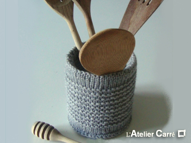 housse boite de conserve en laine