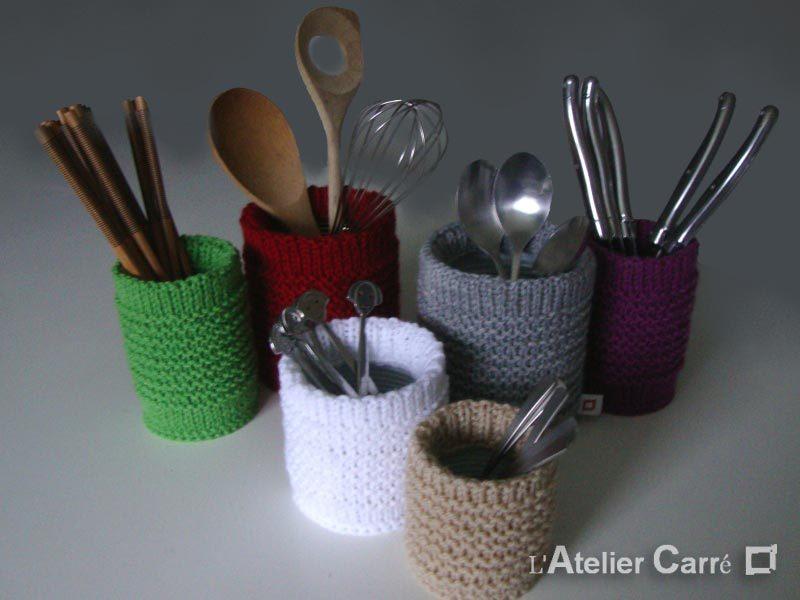 chaussette boite de conserve en laine format et couleur au choix