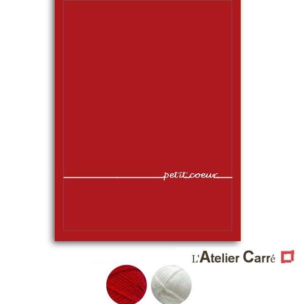 couverture bébé rouge exemple de texte