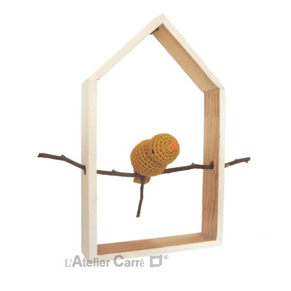 etagere-decorative-maison-oiseau-moutarde