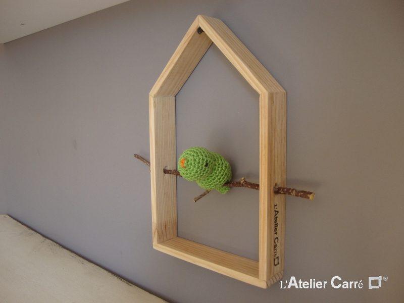 etagere-decorative-maison-oiseau-vert-pistache