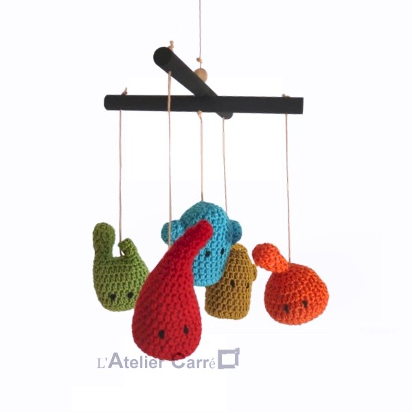 Mobile bébé design personnalisable pour la chambre de bébé